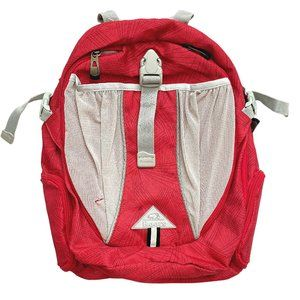 Roots Pink w/Light Grey Mesh Backpack
